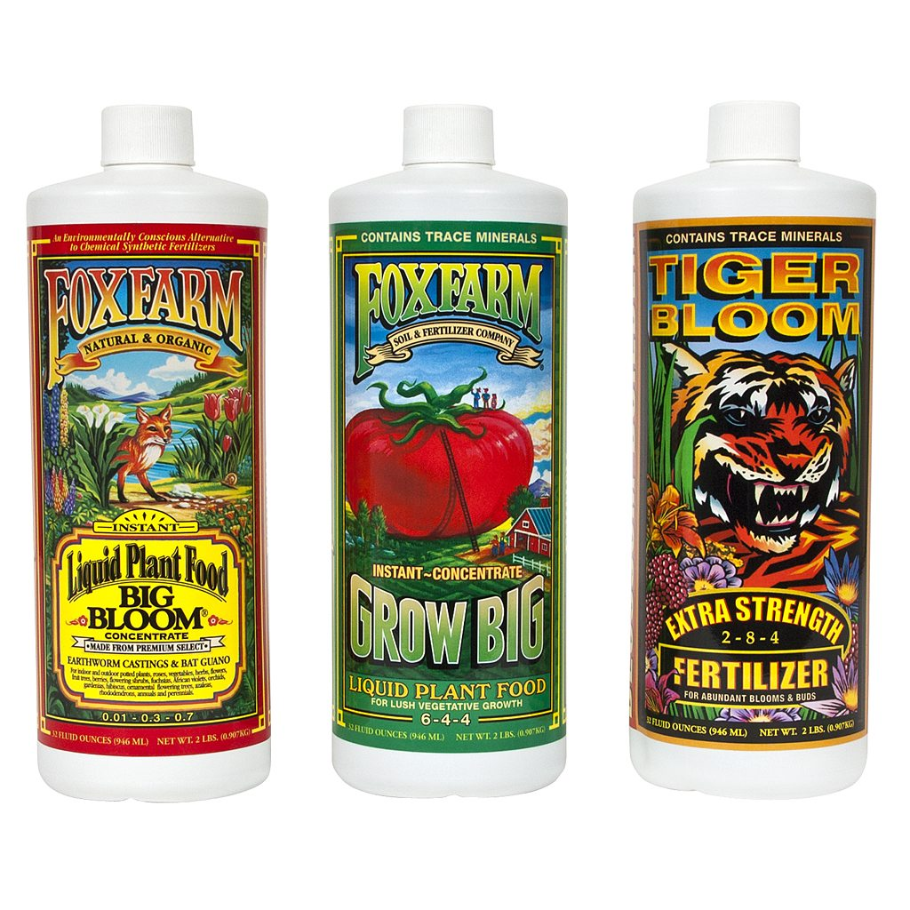 FoxFarm Nutrient Trio