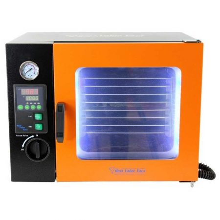 0.9CF ECO Vacuum Oven - 4 Wall Heating, LED display, LED's - 4 Shelves Standard