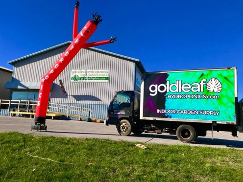 Goldleaf Hydroponics Garden Center