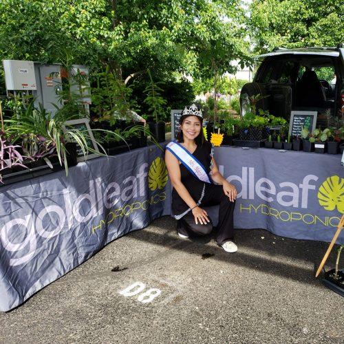 Bloomington Farmers' Market Goldleaf Hydroponics