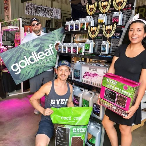 CYCO Nutrients at Goldleaf Hydroponics