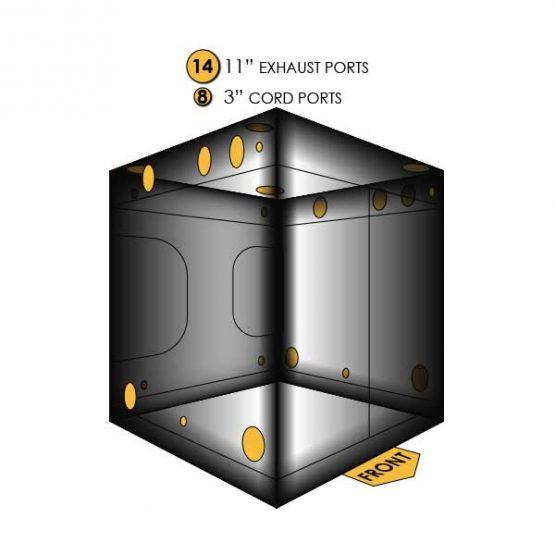 Gorilla-Grow-Tent-10x10-Ports