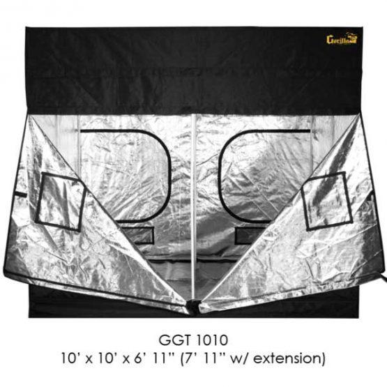 Gorilla-Grow-Tent-10x10-Zipper