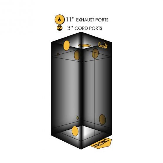 Gorilla-Grow-Tent-3x3-Ports